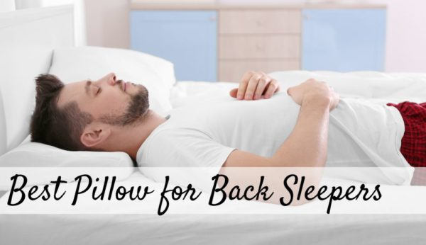 Best Back Sleeper Pillow